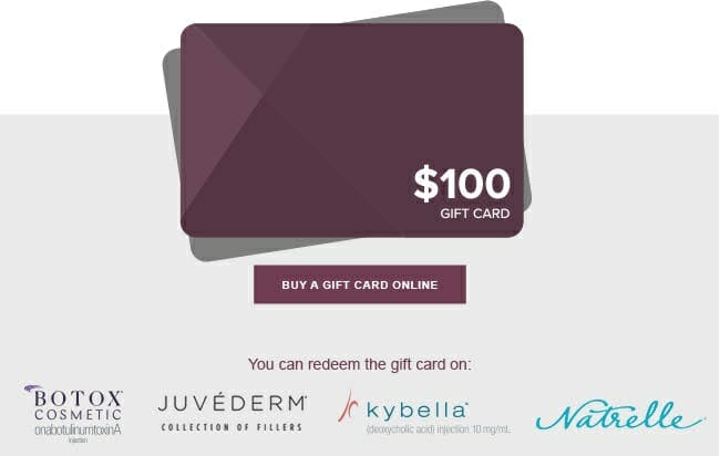 $100 Gift Card For Only $50
